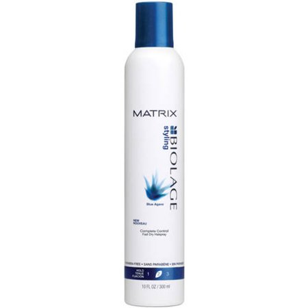 - Biolage By Matrix Styling Blue Agave Complete Control Fast Dry Hairspray, 10 Oz