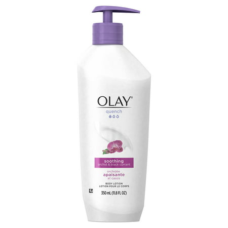 Olay Quench Soothing Orchid & Black Currant Body Lotion, 11.8 fl (Best Body Lotion For Black Skin)