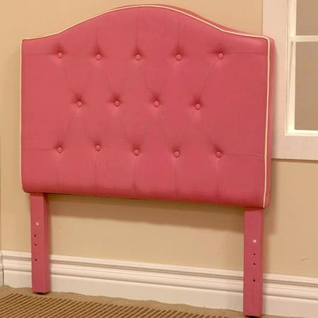 Homepop Twin Headboard Pink