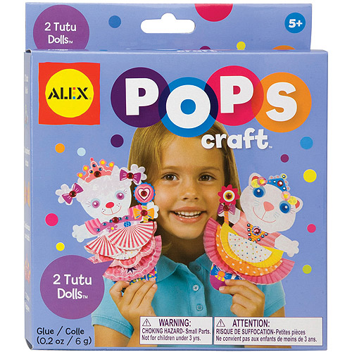 Alex Toys Pops Craft, Tutu Dolls