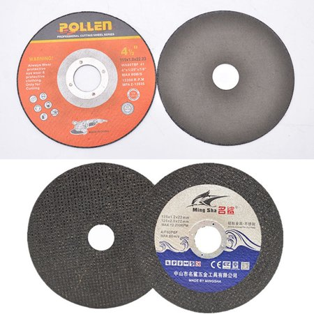 CUH 4 1/2in Metal Cutting Wheel Metal and Stainless Steel Cutting Disc 7/8