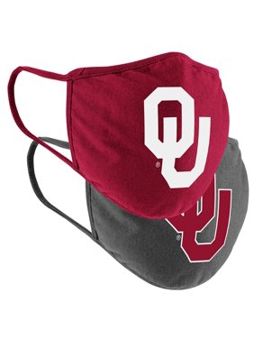 Oklahoma Sooners Colosseum Adult Face Covering 2-Pack