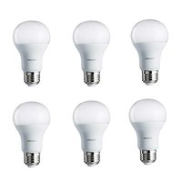 Philips LED Light Bulb, A19, Soft White, 100 WE, 6 Ct