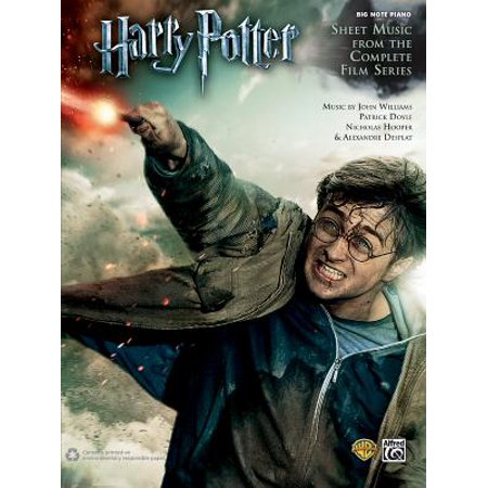 Harry Potter -- Sheet Music from the Complete Film Series : Big Note Piano - Halloween Music Piano Notes