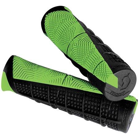 Deuce Grips Black Green Atv Universal, Double-density grip By Scott (Scott Usa Grips)