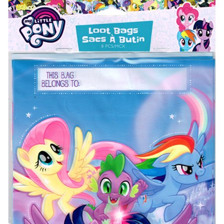 My Little Pony the Movie Favor Bags (8ct)](My Little Pony Party Bags)