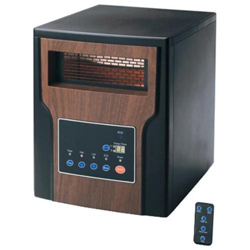 Westpointe GD9315BC2-X Infrared Heater, Black
