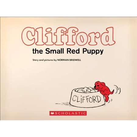 Clifford the Small Red Puppy: Vintage Hardcover - My New Puppy Halloween Edition
