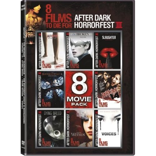 AfterDark Horrorfest III: 8-Movie Pack - Autopsy / The Broken / Slaughter / Butterfly Effect 3 / Perkins' 14 / Dying Breed / From Within / Voices (Widescreen)