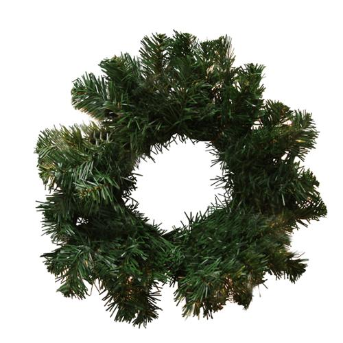 "12"" Deluxe Windsor Pine Artificial Christmas Wreath - Unlit"