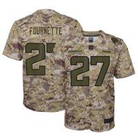 Leonard Fournette Jacksonville Jaguars Nike Youth Salute to Service Game Jersey - Camo