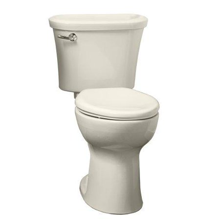 "American Standard 217AA.104.020 Tropic Cadet Pro Right-Height Elongated Two-Piece 1.28 GPF Toilet with 12"" Rough-In, Available in Various Colors"