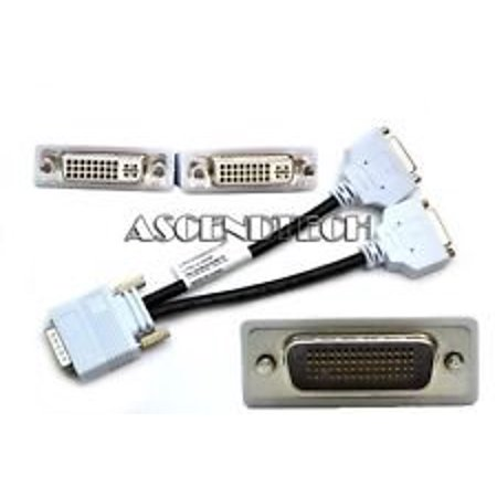 DMS-59 TO DUAL DVI Y SPLITTER COMPUTER MONITOR CABLE ADAPTER 687730006 (Dms 59 To Dual Dvi Splitter Cable)