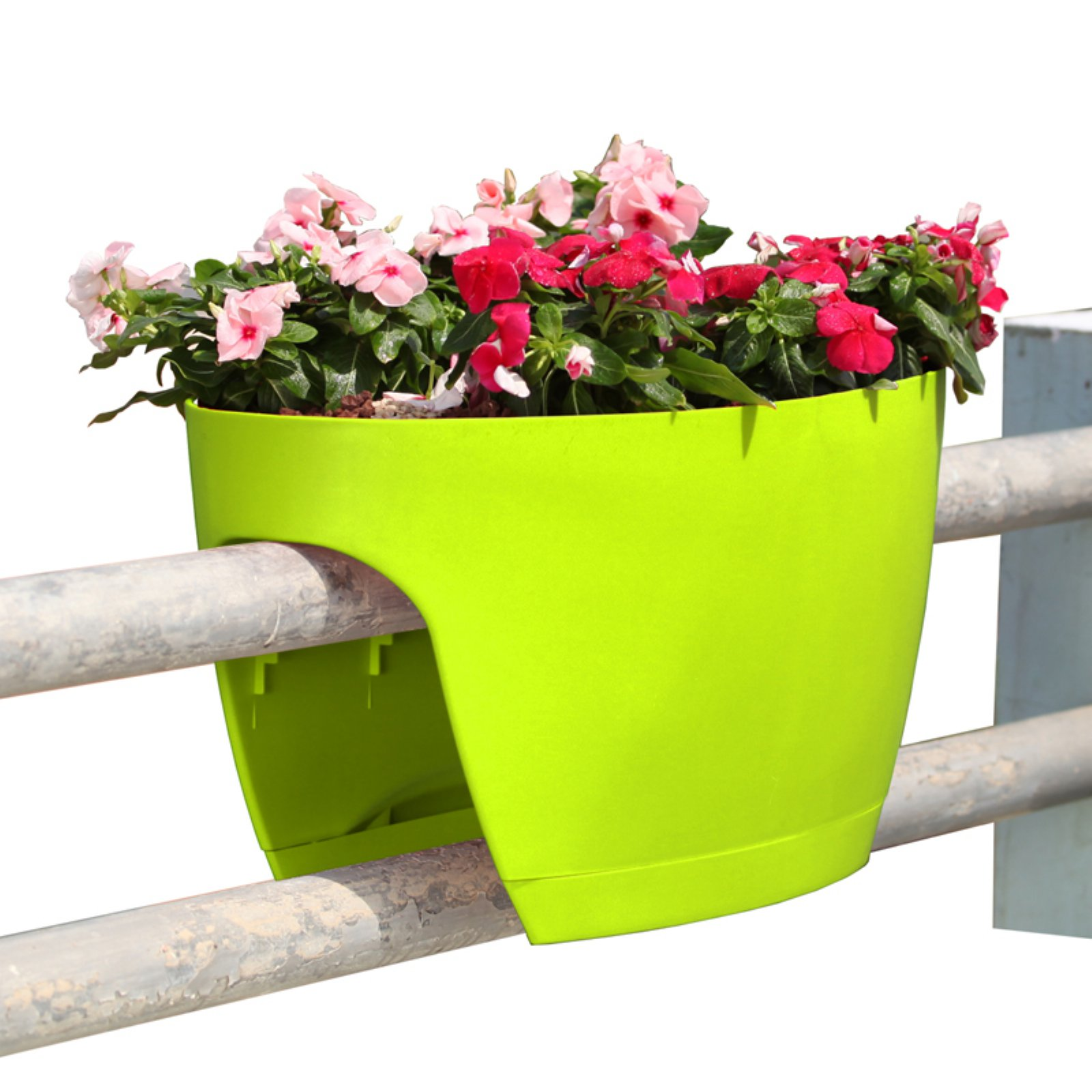 Greenbo Railing Deck and Balcony Planter - Set of 6