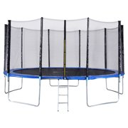 Gymax 15 FT Trampoline Combo Bounce Jump Safety Enclosure Net