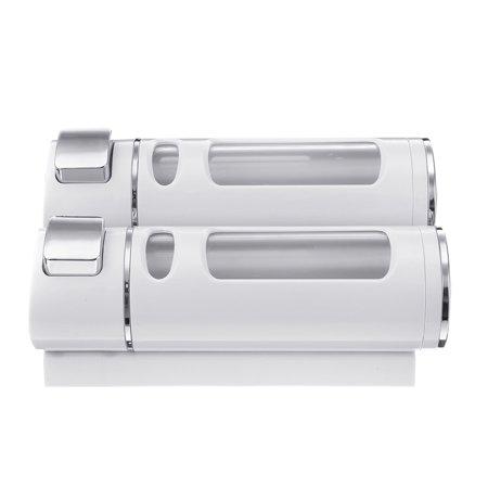 400ml*2 Bathroom Soap Dispenser Press Type Wall-mounted Soap Liquid Box - image 7 de 7
