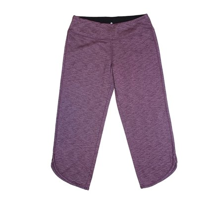 Tuff Athletics Women's Crop Capri Pants, Rough Melange, (Best Pants To Wear Hiking)