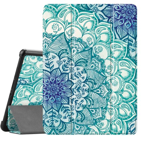 Fintie Slim Shell Case for Samsung Galaxy Tab S4 10.5 Lightweight Stand Cover with S Pen Holder T830/T837 Emerald - image 4 of 4