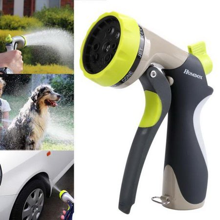 8 Spray Modes Garden Hand Sprayer   Hose Nozzle For Car Washing  Dog Washing  Flowers  Gardening