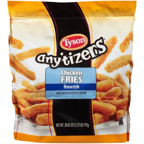 Tyson Any'tizers Homestyle Chicken Fries, 28.05 oz