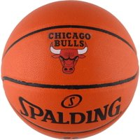 Spalding Chicago Bulls Official Size Logo Basketball