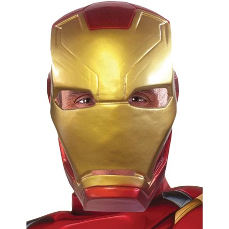 Captain America 3 Iron Man 1/2 Mask Adult Halloween Accessory