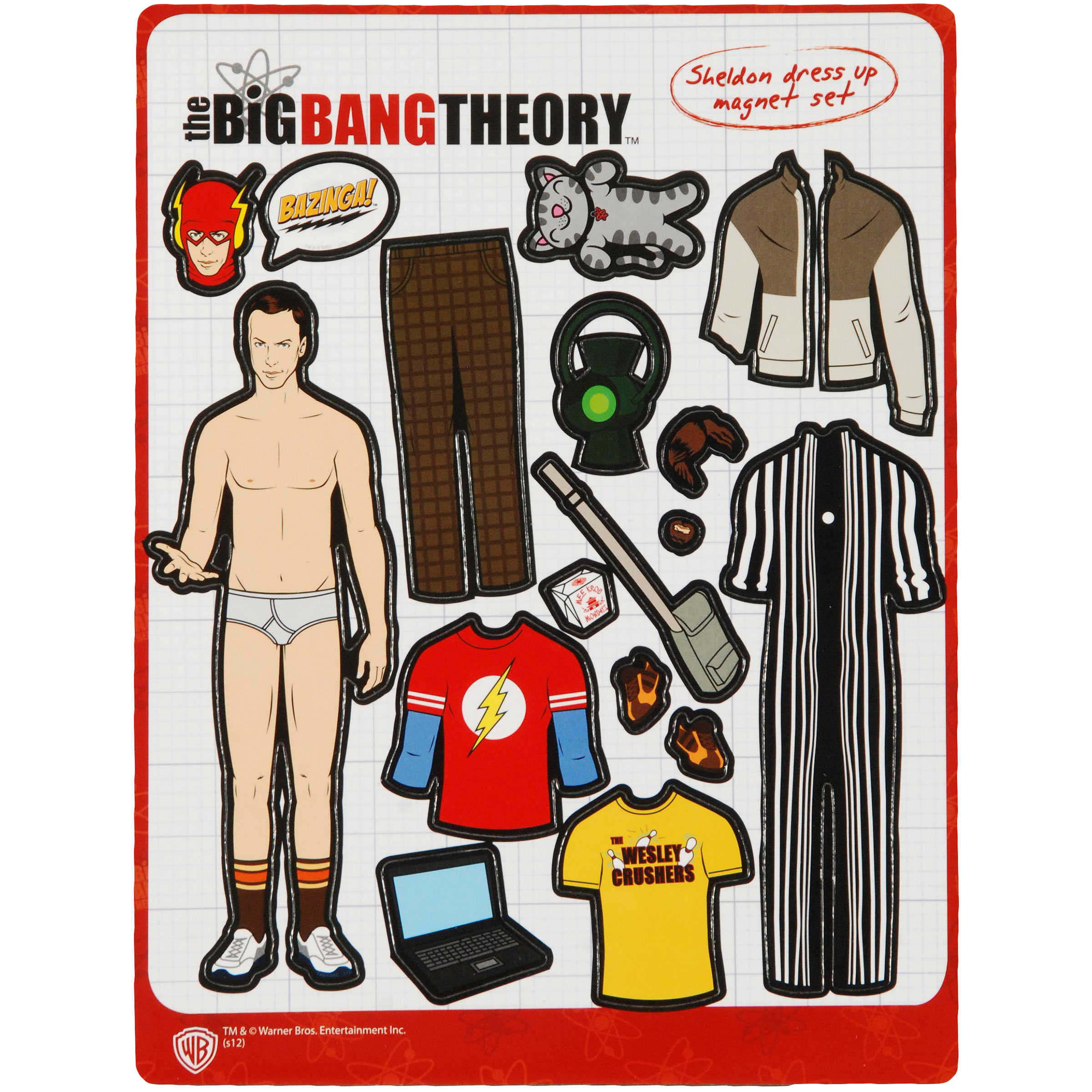Big Bang Theory Magnet