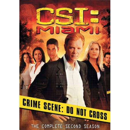 Csi  Miami  The Complete Second Season  Widescreen