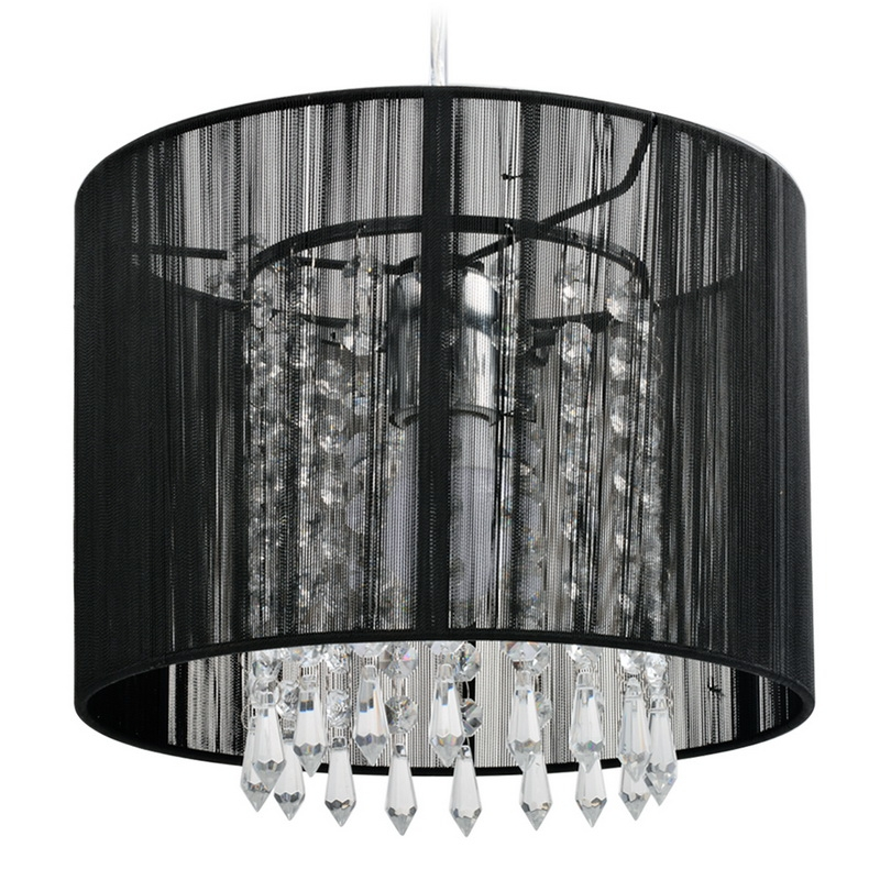 Modern Inner Clear Living Room Pendant Light Study Room Chandelier Ceiling Lamp Light by