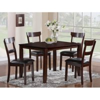 Crown Mark Espresso Henderson 5-Pk Dining Set