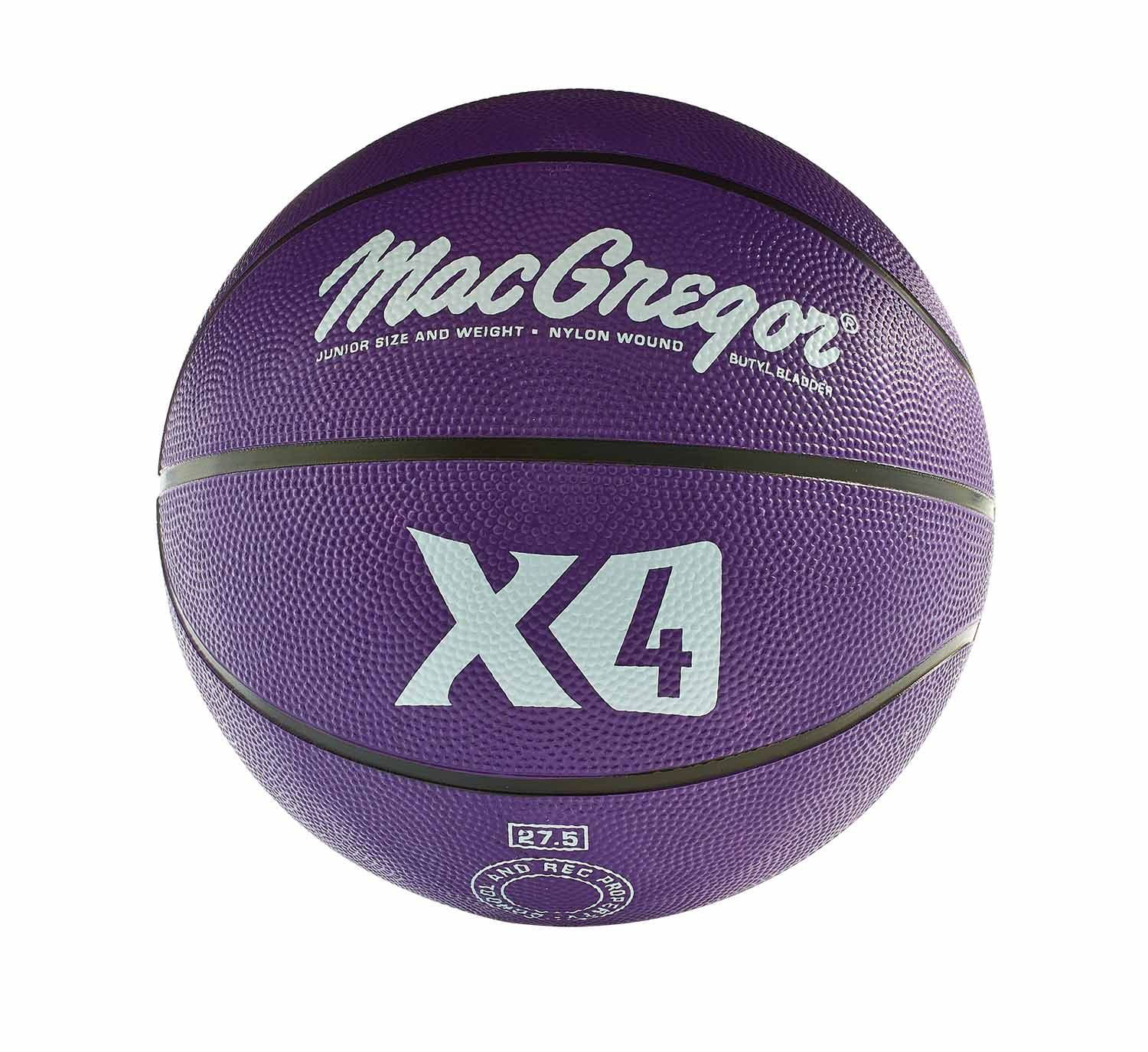 "Click here to buy MacGregor Multicolor Basketball Official Size 29.5"" PURPLE by Generic."