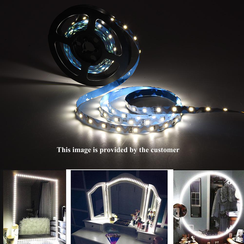 Hurrise 3 Types 13ft 240 Leds Strip Bar Vanity Mirror Makeup Lamp
