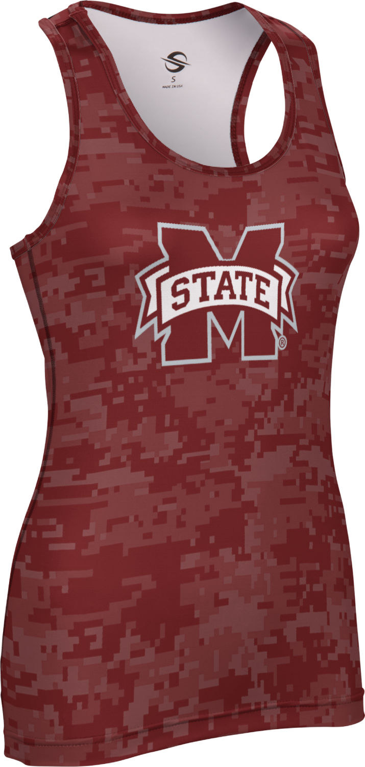 ProSphere Women's Mississippi State University Digital Performance Tank by