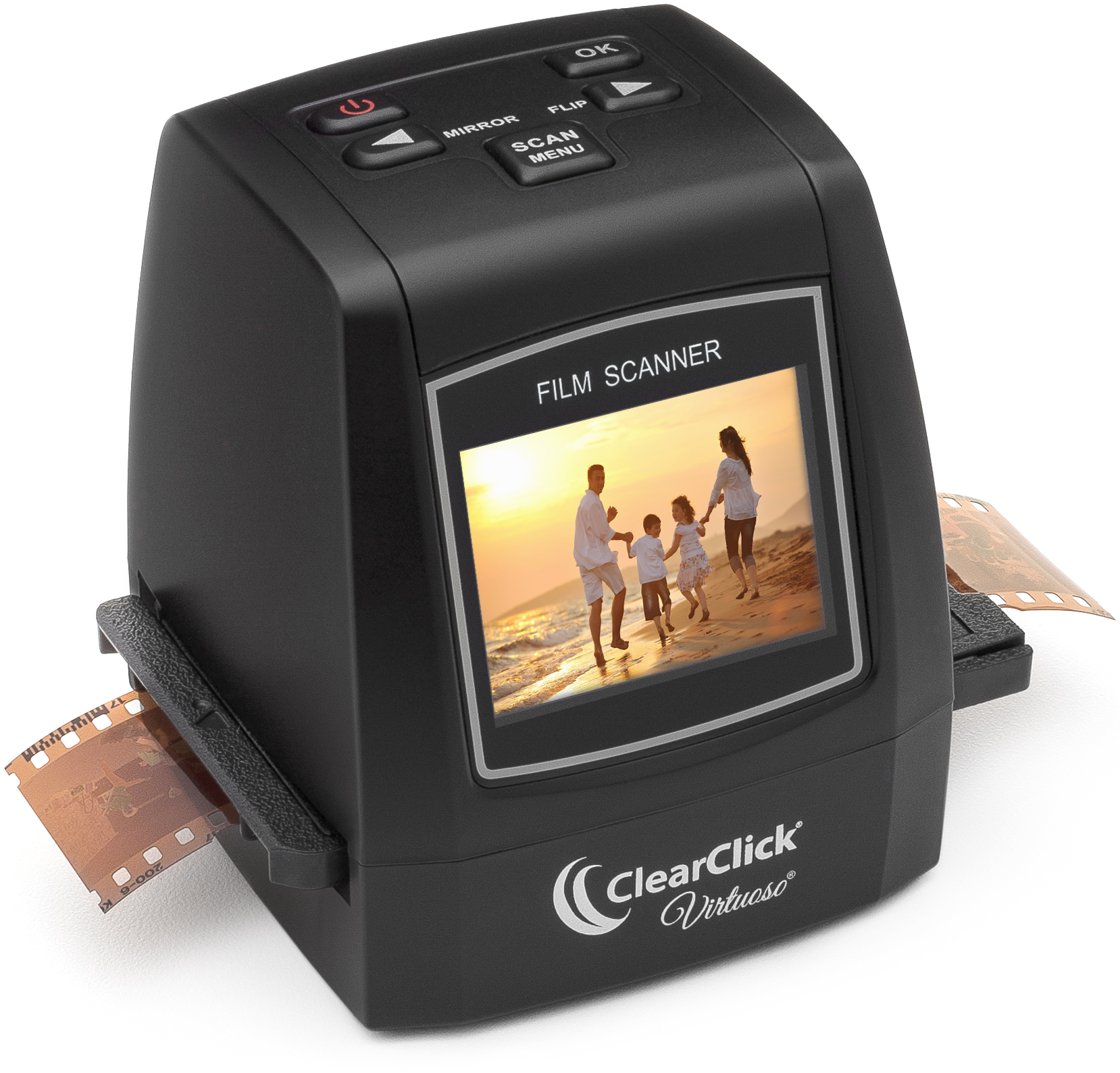 ClearClick 22MP Virtuoso Film & Slide Scanner with PhotoP...