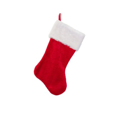 Red Christmas Stocking.Cp Christmas Holiday Felt Red Stocking W White Plush Cuff Red Hanging Tag 12 1 Pack
