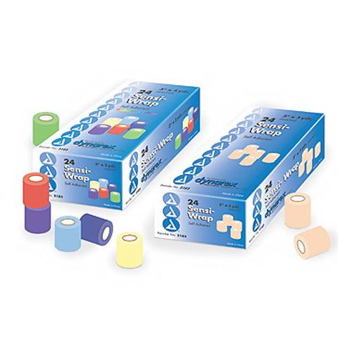 "Dynarex Sensi Wrap Self Adherent Bandage Roll 3""X5 Yards # 3173 - 1 Ea, 3 Pack"