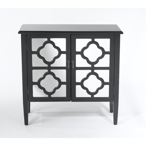 AA Importing 2 Door Accent Cabinet by