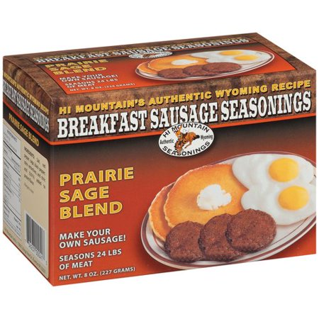 Hi Mountain's Prairie Sage Blend Breakfast Sausage Seasonings, 8 -