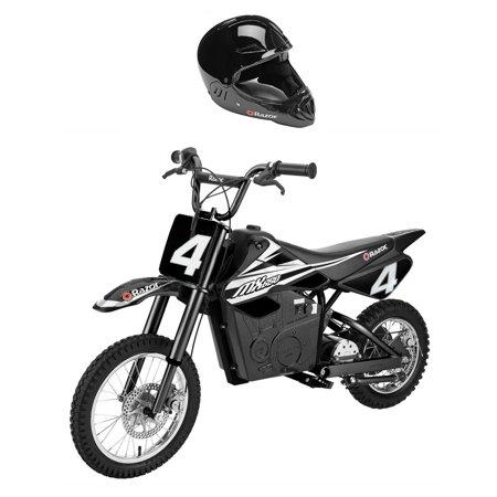 Razor MX650 Steel Electric Dirt Rocket Motor Bike for Teens w/ Full Face Helmet (Razor Electric Bike Motor)