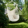 Ktaxon Chair Hanging Rope Swing Hammock Outdoor Porch Patio Yard Seat with Two Pillows