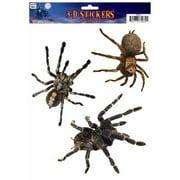 3D WINDOW STICKER-SPIDER 12 PACK