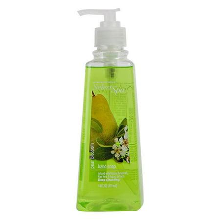 Perfect Purity Select Spa Pear Blossom Hand Soap With Aloe Vera And Papaya - 14 - Spa Hand Soap