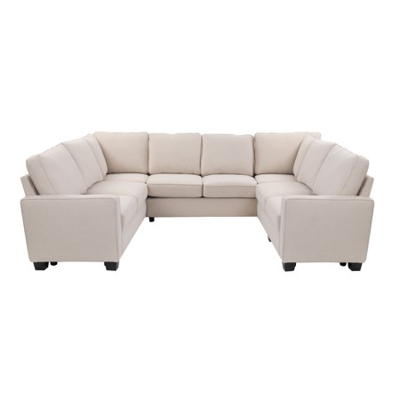 Better Homes & Gardens Gramercy U-Configuration Sectional with 3 73