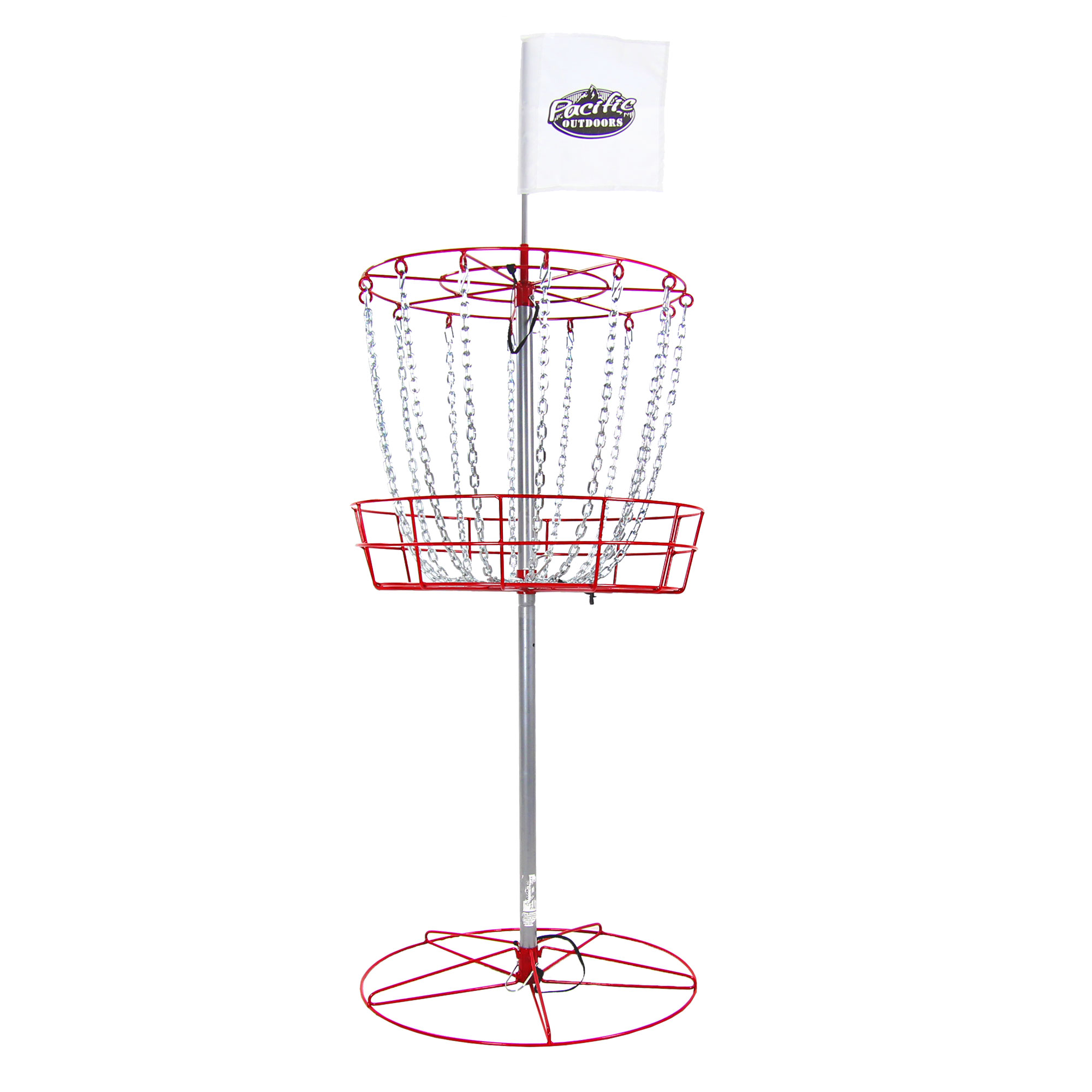 New InSTEP Disc Golf Basket Target Goal & 3 Discs DG200 by