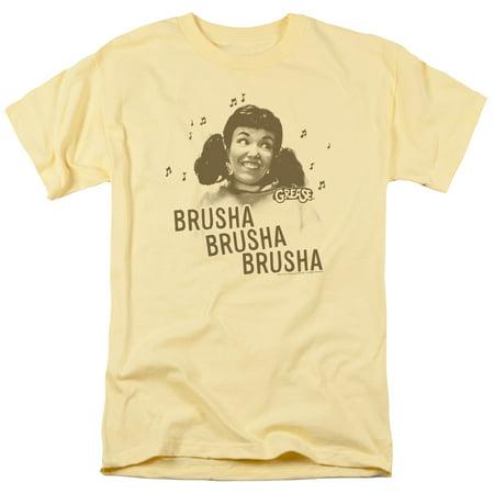 Grease/Brusha Brusha Brusha   S/S Adult 18/1   Banana     Par453