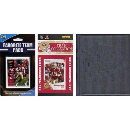 C & I Collectables 201049ERSTSC NFL San Francisco 49ers Licensed 2010 Score Team Set and Favorite Player Trading Card Pack Plus Storage (San Francisco Center Stores)