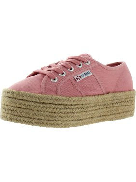 Superga Womens 2790 Canvas Low-Top Platform Sneakers