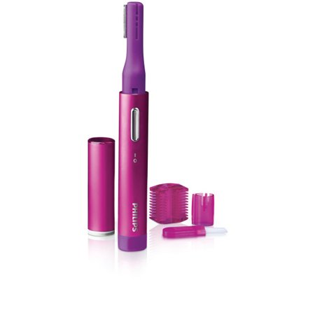 Philips PrecisionPerfect compact Precision Trimmer for Women, Facial hair & Eyebrows