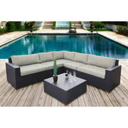 Nevis 6-Piece Conversation Sectional Seating