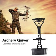 EECOO Archery Arrow Quiver Black Accessory Universal for Compound Bow Hunting Shooting Compound Bow Quiver Archery Quiver